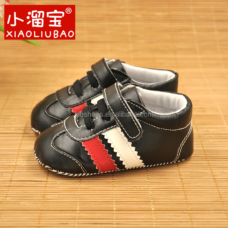 Winter newborn baby shoes sports happy baby shoes Wholesale Leather Baby Sport