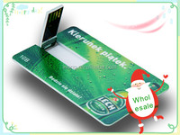 Can custom logo and picture credit /card business card /name card usb flash drive wholesale