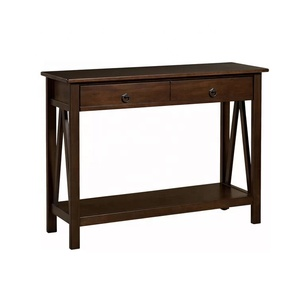 New Design Antique Vintage Industrial Storage Furniture Wooden Console Table