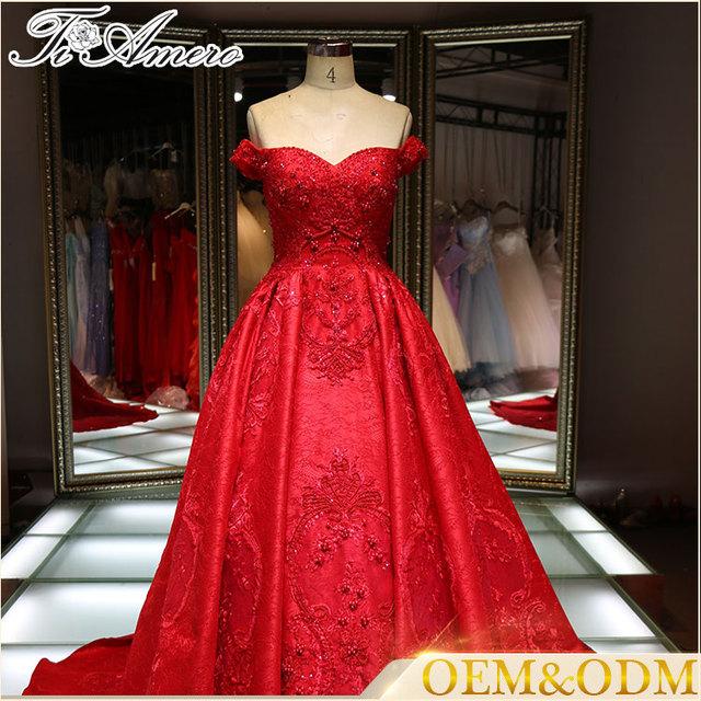 China Red Rose Wedding Dresses Wholesale 🇨🇳 - Alibaba