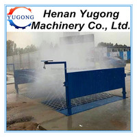 Manual Automatic Car Bus Cleaning Equipment For Construction Site