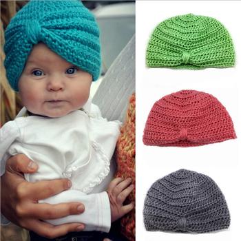 Baby Hat Crochet Baby Turban Crochet Baby Photo Prop Hat Lyh055