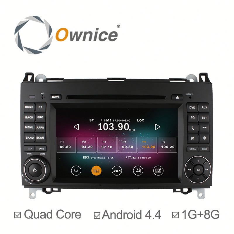 "Ownice 7"" Android 5.1 Auto Radio GPS Navigation for Benz B200 W169 Sprinter Quad Core with Wifi FM RDS"