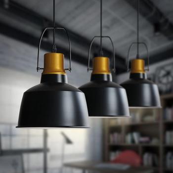 vintage lamps pendant lights aluminum gold pot industrial style