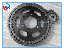 Bike parts factory machined chain customized steel CNC turning parts