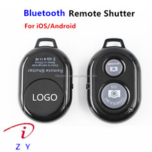 Factory price for iphone ios android smartphone bluetooth remote control shutter