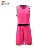 New Youth Adult Unique Design Sublimation Basketball Set Basketball Wear