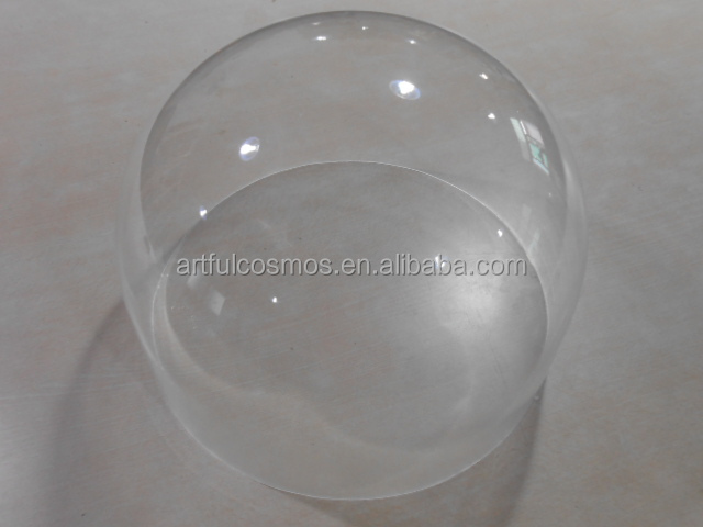 Manufacturer Supplier Wholesale new design customed acrylic dome optical with certificate