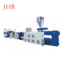 Chinese manufacturers Single Wall Plastic Corrugated Pipe Extrusion Line