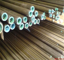 Trade Assurance St52 ERW Welded Carbon Black Steel Pipe Manufacture/Tub.4 for Gas Pipe Trading Ali Expres China