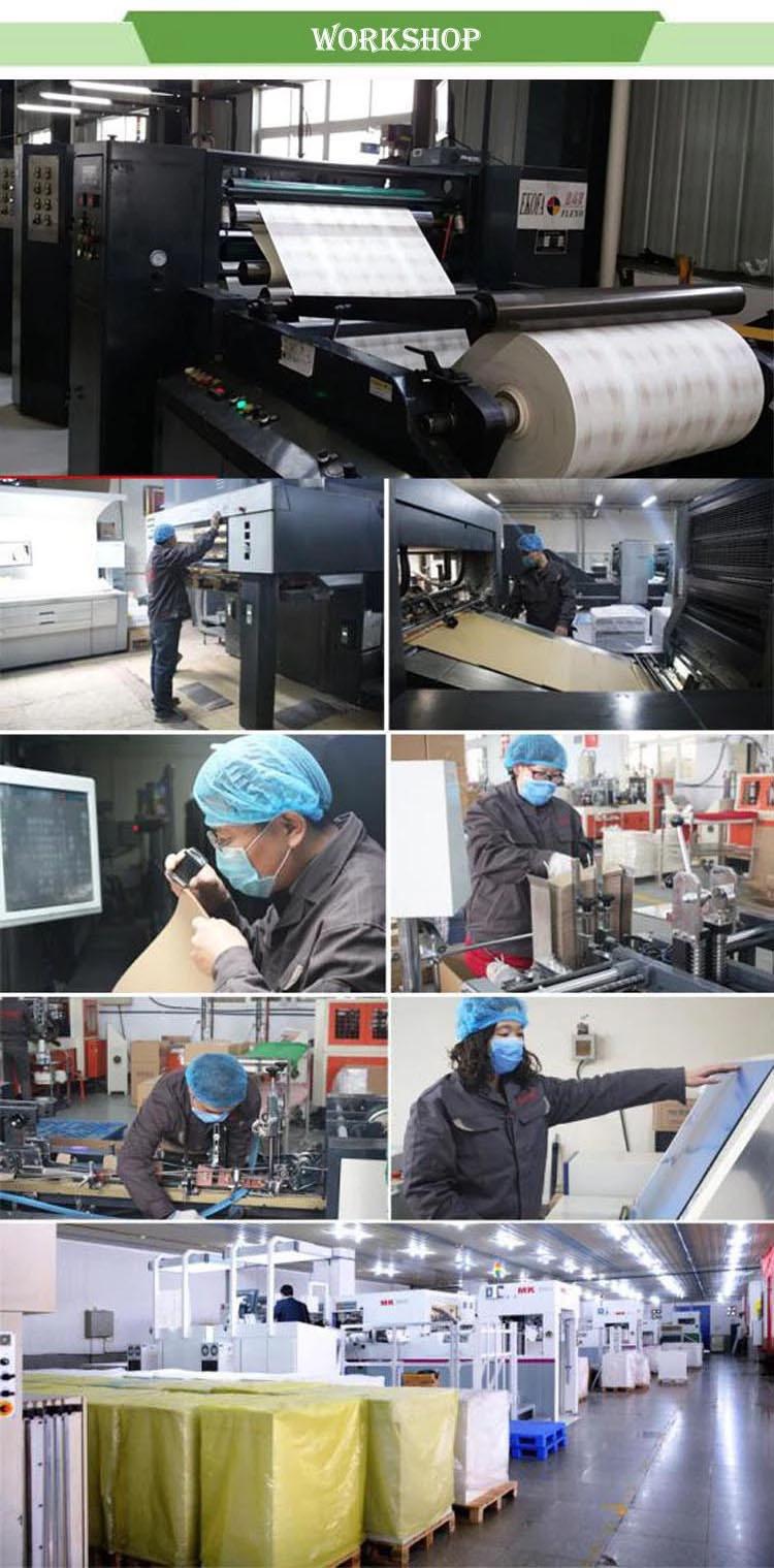 PE rivestito 35g marrone kraft a prova di acqua di carta deli