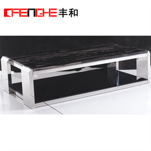 Home Furniture General Use Marble Tea Table