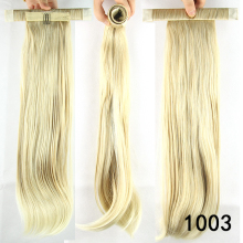 9 colors, straight Ponytails with hair band, Synthetic hair ponytail, Hair Extensions, 1pc
