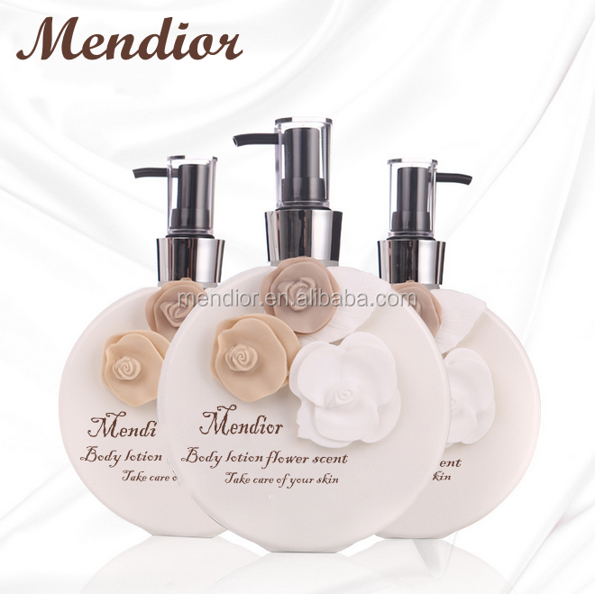 Mendior 2017 Private label Baby skin lightening lotion black skin body whitening flower scent lotion