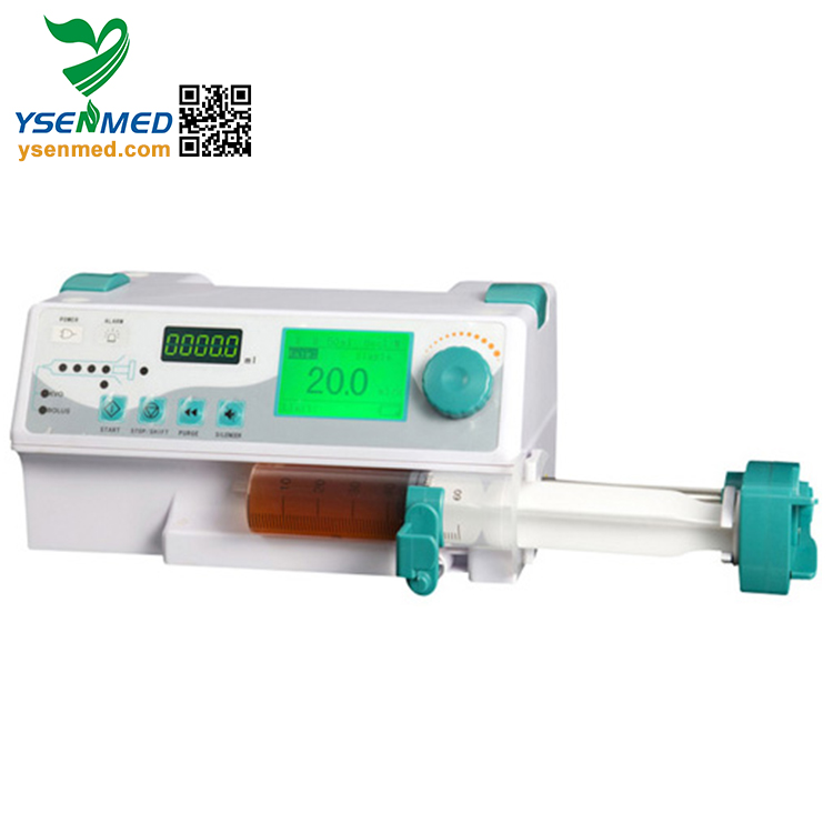 YSZS-810 Advanced lowest price CE approved electric syringe pump manufacture