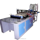 Polythene bag making machine:full automatic computer heat-cutting bag making machine