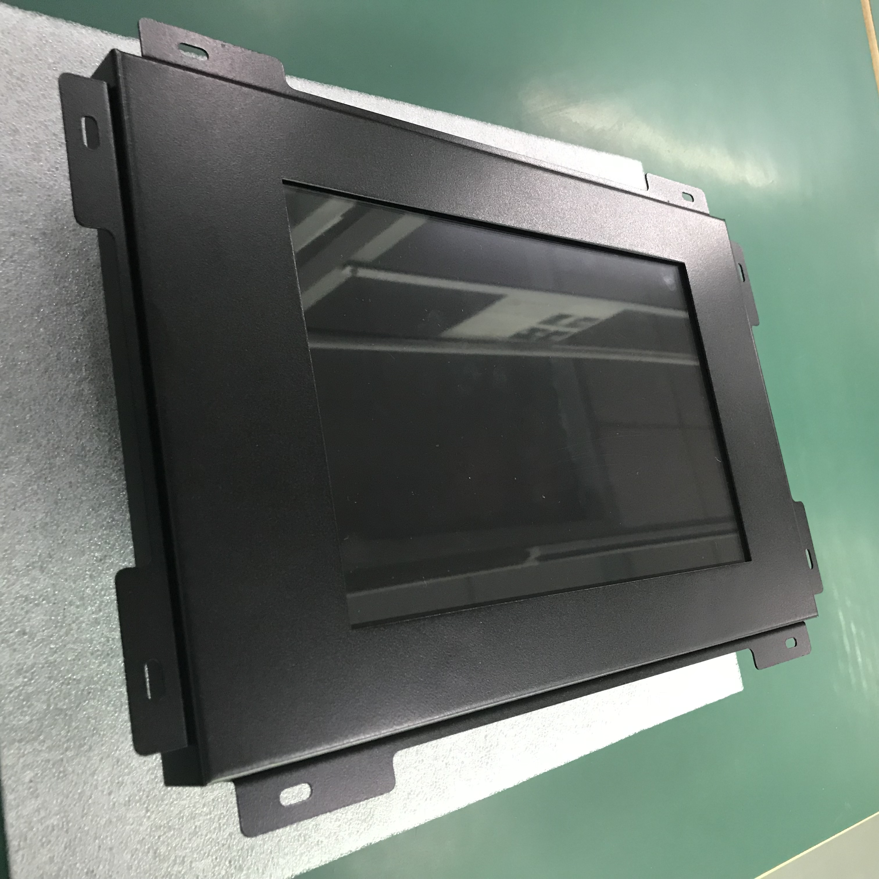 Custom Design Raspberry pi 3 touchscreen Display 10 ''touch screen monitor met metalen case offical power adapter