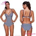 Lover-beauty Custom Waterproof woman plus size Bikini Swimwear