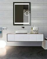 Bathroom Strip Light Makeup Mirror With Led Light