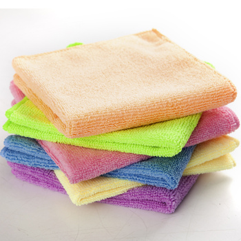 Multipurpose microfiber kitchen cleaning cloth