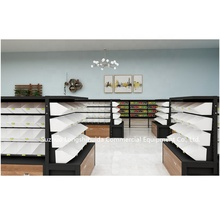 Supermarkt plank fancy metalen display rack voor winkels