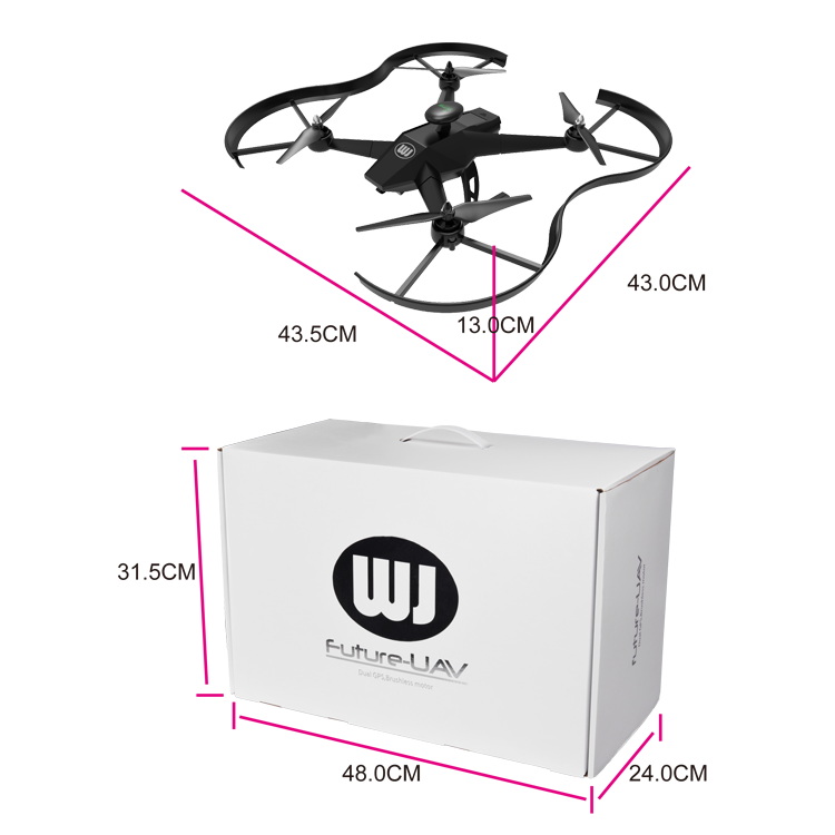Professional long range GPS drone with 1080P HD camera