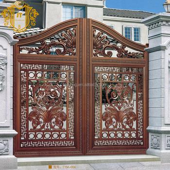 Small Wrought Iron Front Gates Fence Gate Luxury Pedestrian Interior