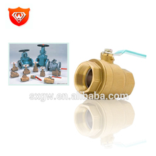 Gold supplier brass non return valve bronze ball valve with great price