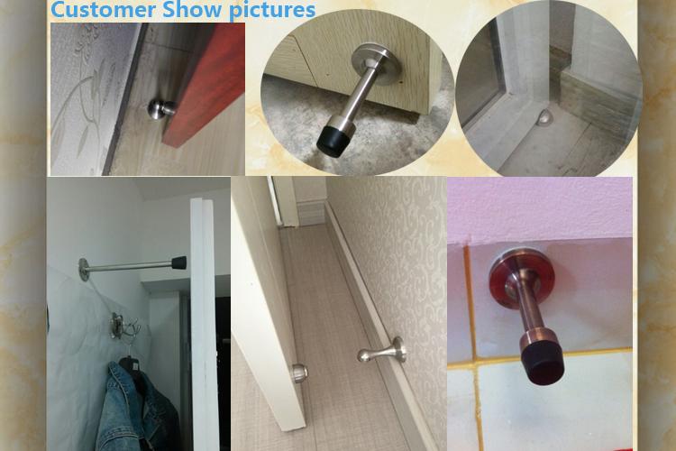 Bathroom Sliding Door Stopper Photo Album Woonv Handle Idea