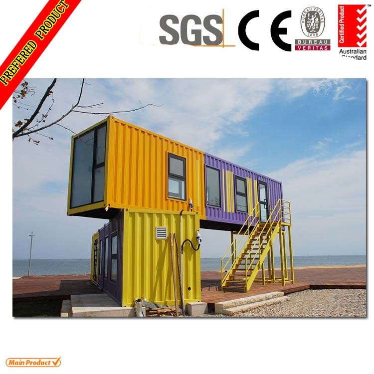 40ft Pengiriman Desain Rumah Kontainer Rumah Prefab Id