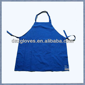 Cotton Coated Pvc Apron Of Industrial Waterproof Aprons