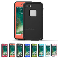 New Products 2016 IP68 Waterproof Case Full Body Sealed Waterproof Snowproof Shockproof Dirtproof Phone Case Cover for iphone 7