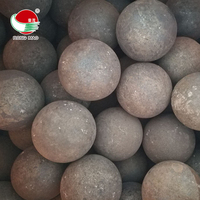 Hammer Or Rolling 80mm Forged Grinding Media Steel Balls