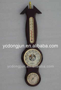 Wall Clock Barometer