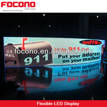 P16 rgb flexible led display