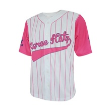 Groothandel vrouwen 100% polyester v-hals korte mouwen sublimatie baseball tee shirt <span class=keywords><strong>custom</strong></span> dames baseball jersey shirt