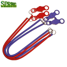 Spring Coiled Strap Lobster Clip Retractable Spiral Coil Cable lanyard