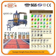 factory price hydraulic paving brick machine