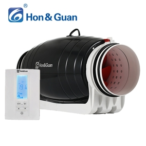 High Speed 6 inch air duct inline booster smart fan