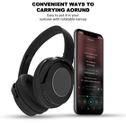 ANC01 Bluetooth Headphones, Active Noise Cancelling Headphones Wireless or Wired over Ear Headphones