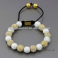 Crystal beads bracelet for valentine's day gift NYB053