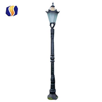 Outdoor Garden Lighting Cast Iron Pole Light  sc 1 st  Botou Hengsheng Crafts Casting Co. Ltd. - Alibaba & Outdoor Garden Lighting Cast Iron Pole Light - Buy Garden Lighting ...