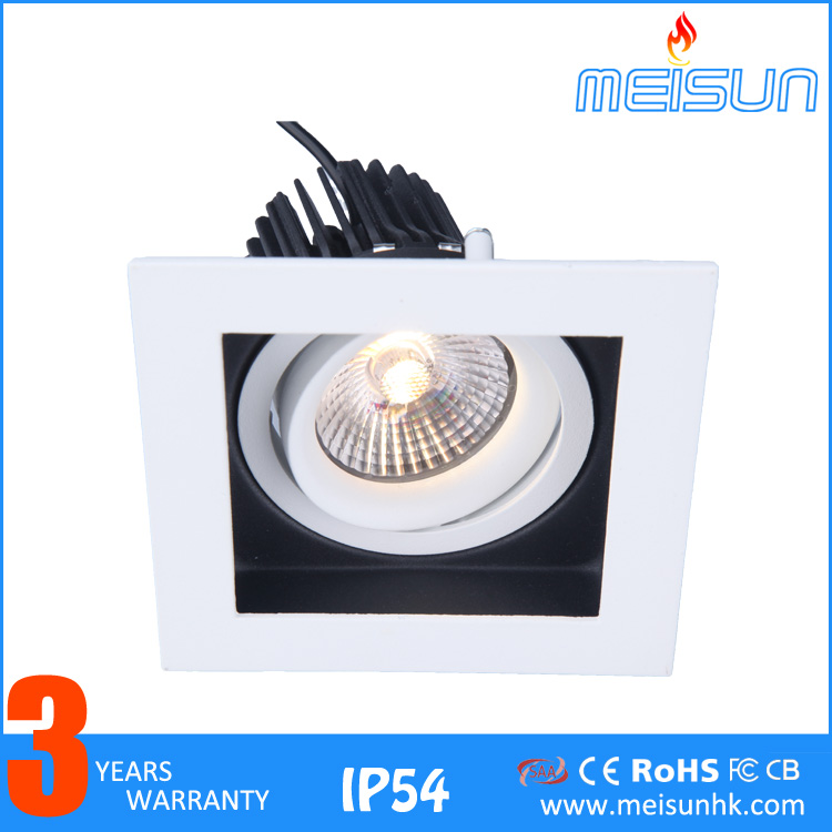 led <strong>downlight</strong> cob <strong>downlight</strong> housing round and square 10w adjustable led <strong>downlight</strong>