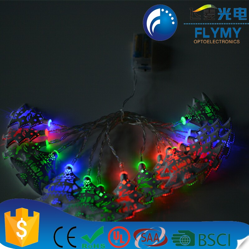 Christmas home 1.5 meter wall hanging battery operated LED string light for wedding and Christmas