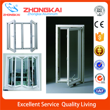 Swing Opening Aluminium Profile Doors And Windows Double Glass Casement Window
