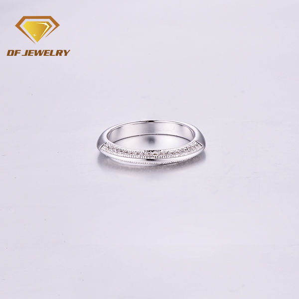 Newest designs cz simple jewel women ring christmas ring