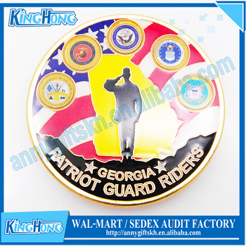 Patriot Guard Riders Georgia Challenge Coin - Buy Cheap Challenge Coins  Product on Alibaba com