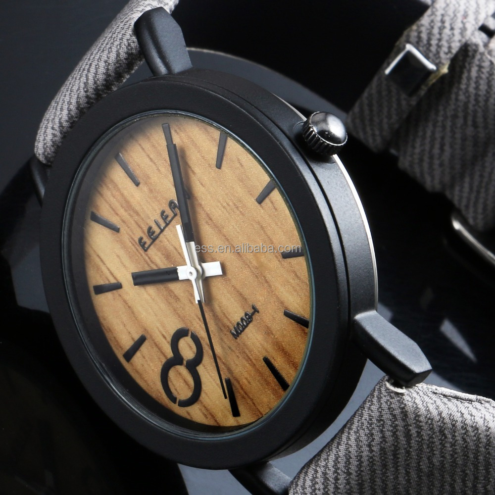 Wholesales causal lady wooden watches japan movt quartz bamboo women wood watch LD134
