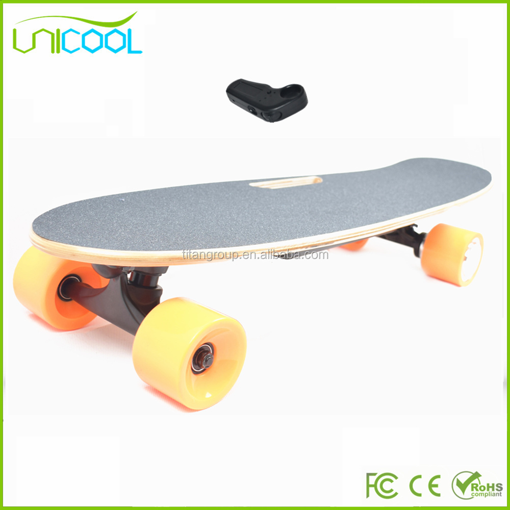 LA Warehouse Europe Warehouse 2017 Unicool Electric Skateboard Best Cheap 200w Dual Hub Motor Kit Sport