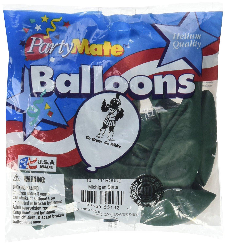 Multicolor Pioneer Balloon Company 10 Count Tcu Latex Balloon 11